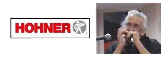 Ged FURUGAWA joue sur Harmonicas HOHNER